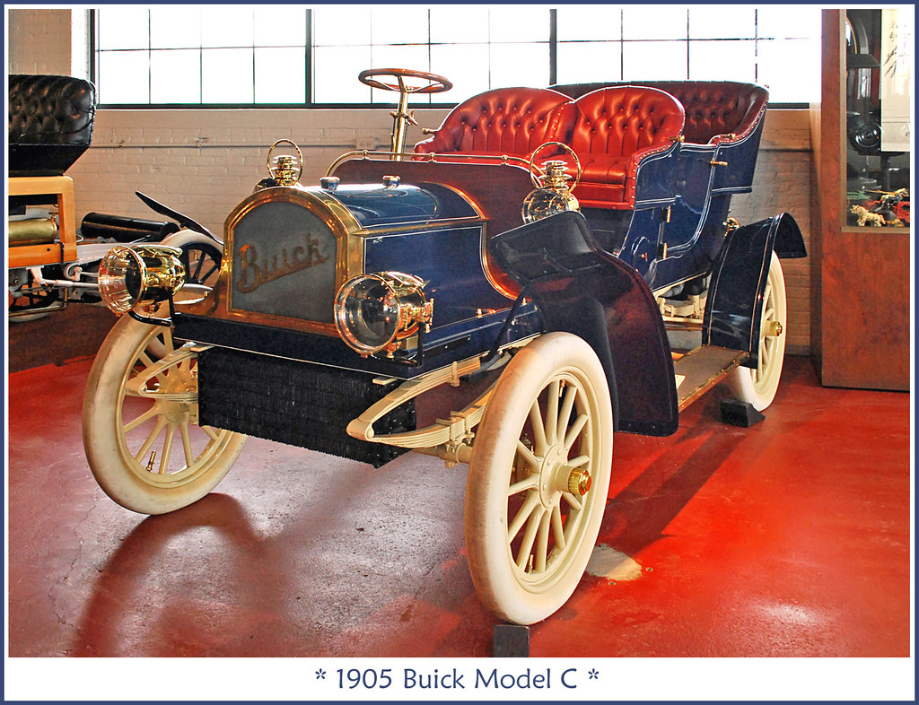 1905 Buick Model C | March 4, 2011 visit to the Buick Automo… | Flickr