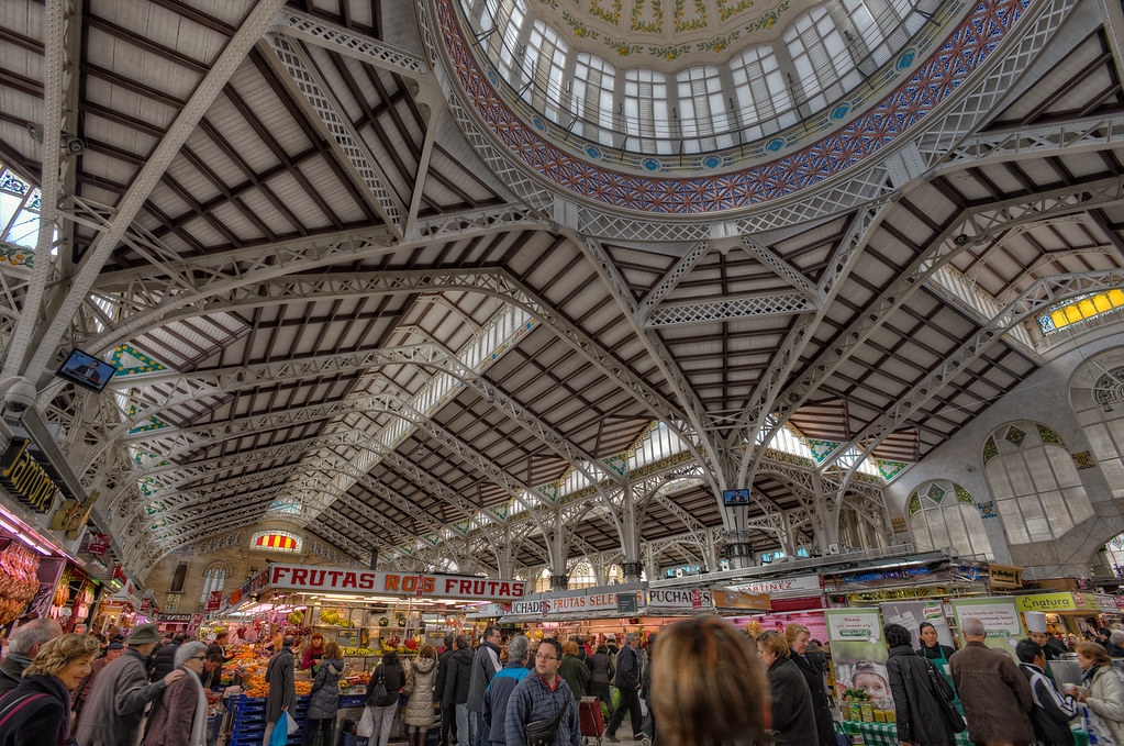 Central Market – Mercado Central, Valencia (Spain), HDR  Flickr