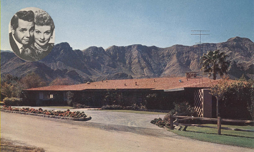 Lucille ball desi arnaz palm springs home in rancho mirage for The lucy house palm springs