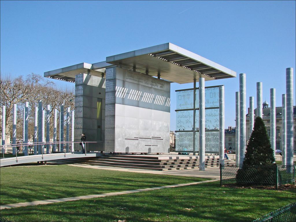 Le mur pour la paix paris le mur pour la paix a t for Architecte 3d wikipedia