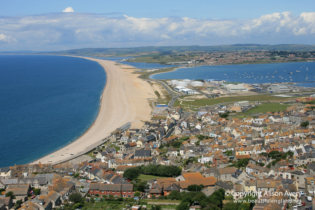 Chesil beach from portland dorset more photographs of - Camera world portland ...