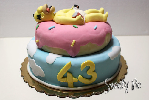 Torta Homer Simpson 2 versione! | Flickr - Photo Sharing!