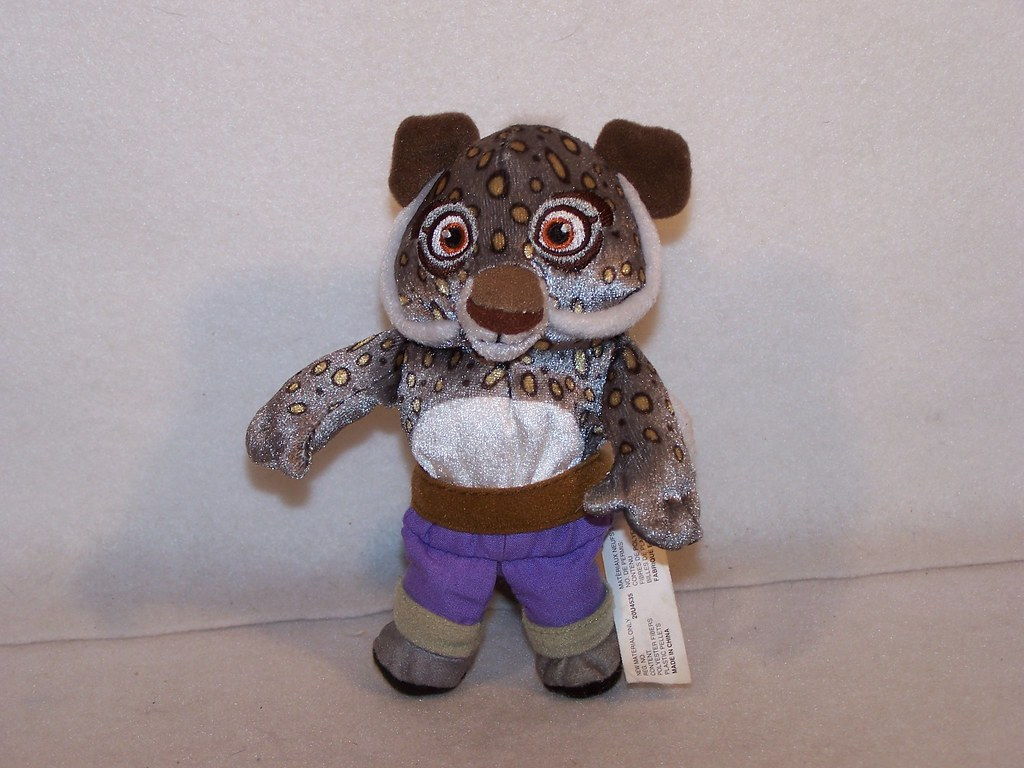 Kung fu panda plush tai lung snow leopard dreamworks | Flickr