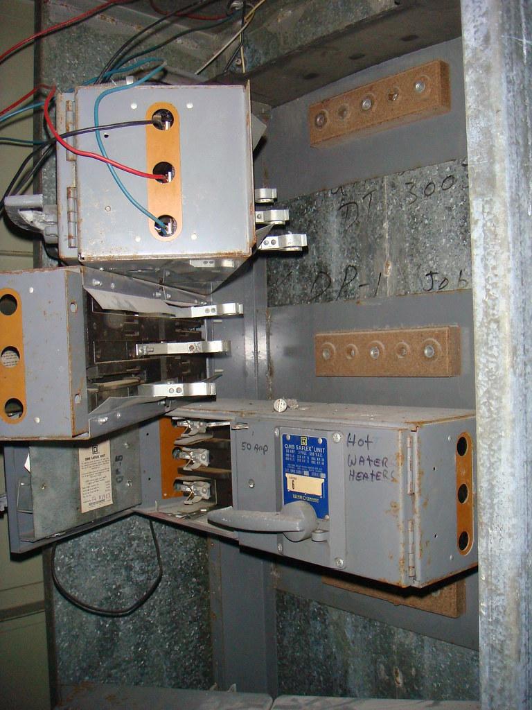 Electrical Equipment Amp Asbestos Insulation Blocks Three