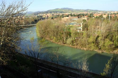 bologna il fiume reno il fiume reno dalla finestra