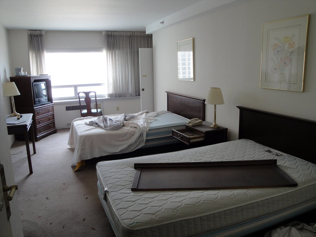 Typical Hotel Room Layout
