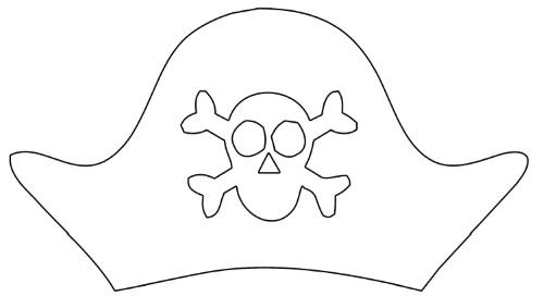 Пиратская шляпа из бумаги схемы шаблоны