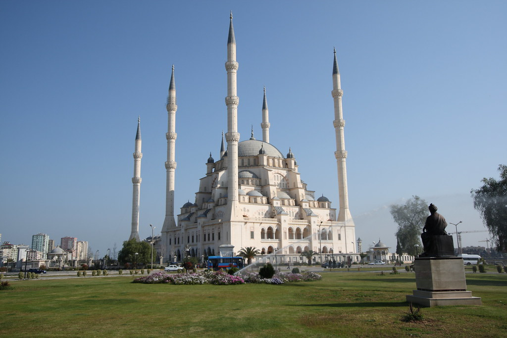 Sabancı Merkez Camii, Adana, Turkey  Rowan Castle  Flickr