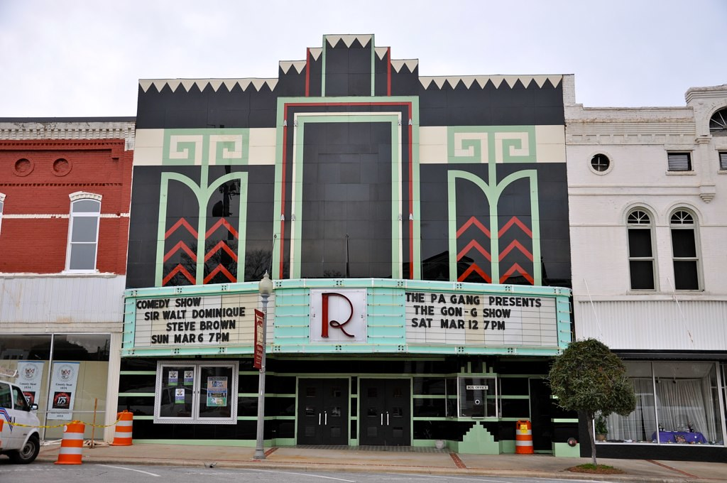 Ritz Theatre Talladega AL Movie Theatre Exterior ...