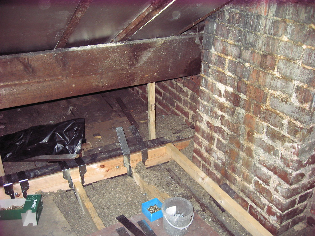Steel Support For Floor Joist Hangers Giong In To