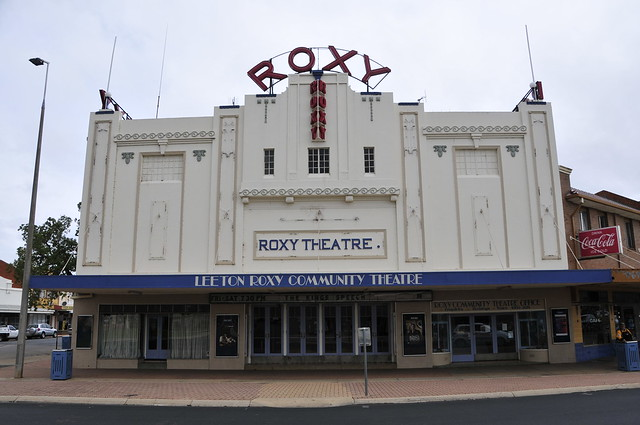 Leeton Australia  city pictures gallery : Leeton NSW Roxy Theatre 1 | Art Deco Theatre Roxy Leeton ...