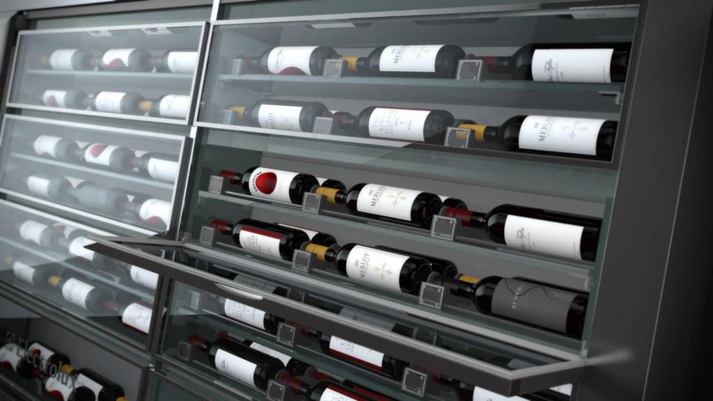 Wine Storage Kitchen Island