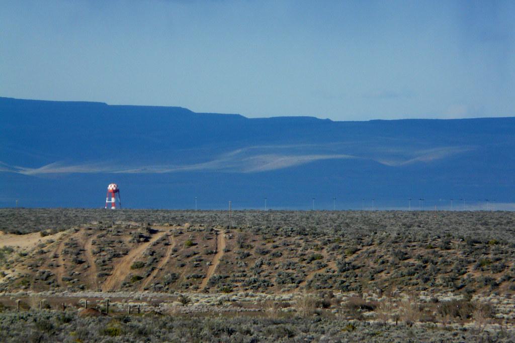 Sierra Army Depot Looking Across The Desert Floor At