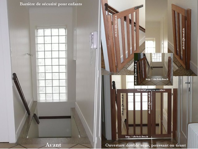 barriere de securit securit pour escalier anti chute protection enfants flickr photo sharing. Black Bedroom Furniture Sets. Home Design Ideas