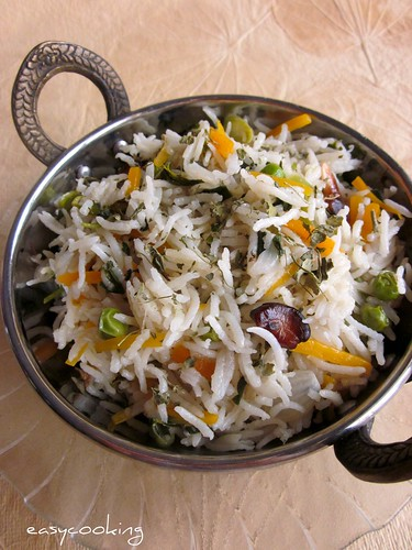 Vegetable Methi Pulao_2 | by Divya Kudua