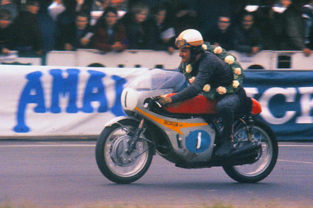 Mike Hailwood Always The Champion Mike The Bike On The