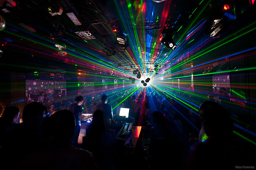 Lasers at Daluz Club, Kozani [explored] | by Nick-K (Nikos Koutoulas)