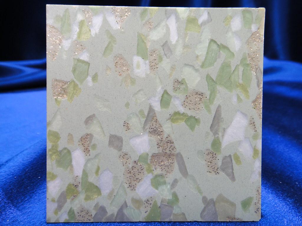 vintage vinyl asbestos floor tile with glitter. Black Bedroom Furniture Sets. Home Design Ideas