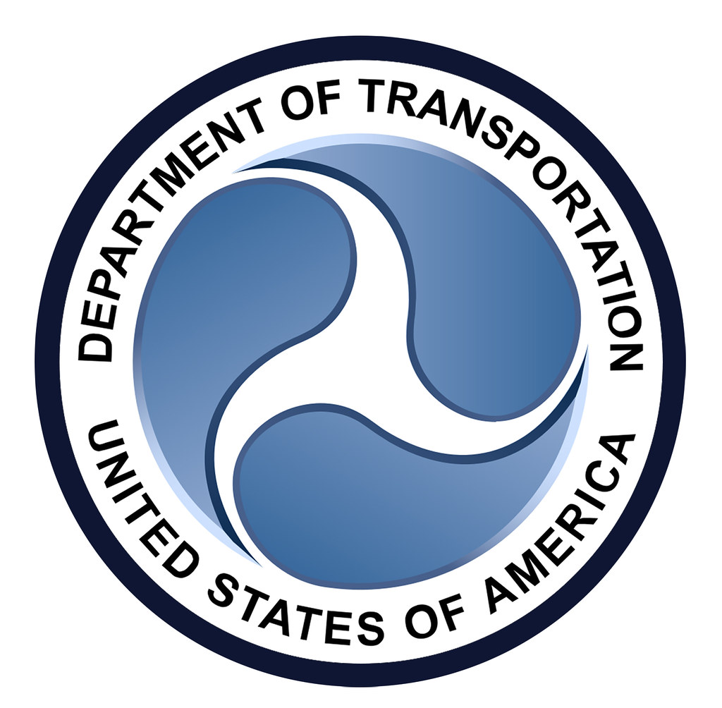 Department Of Transportation Seal Thicker Outer Line