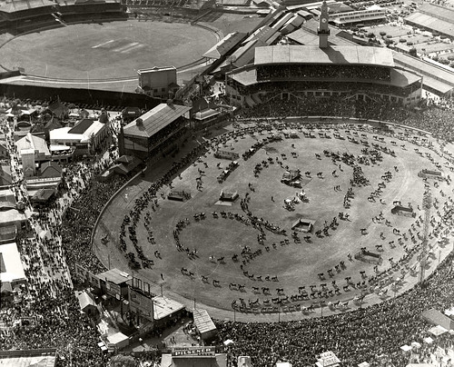 Sydney Showground, Grand Parade Easter 1936