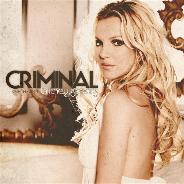 britney spears criminal this is an album cover i made fo flickr. Black Bedroom Furniture Sets. Home Design Ideas