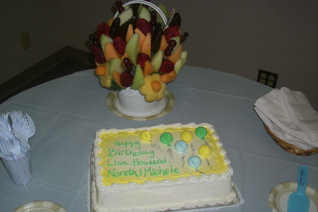 Birthday Fruit Cake Bakery Near Me