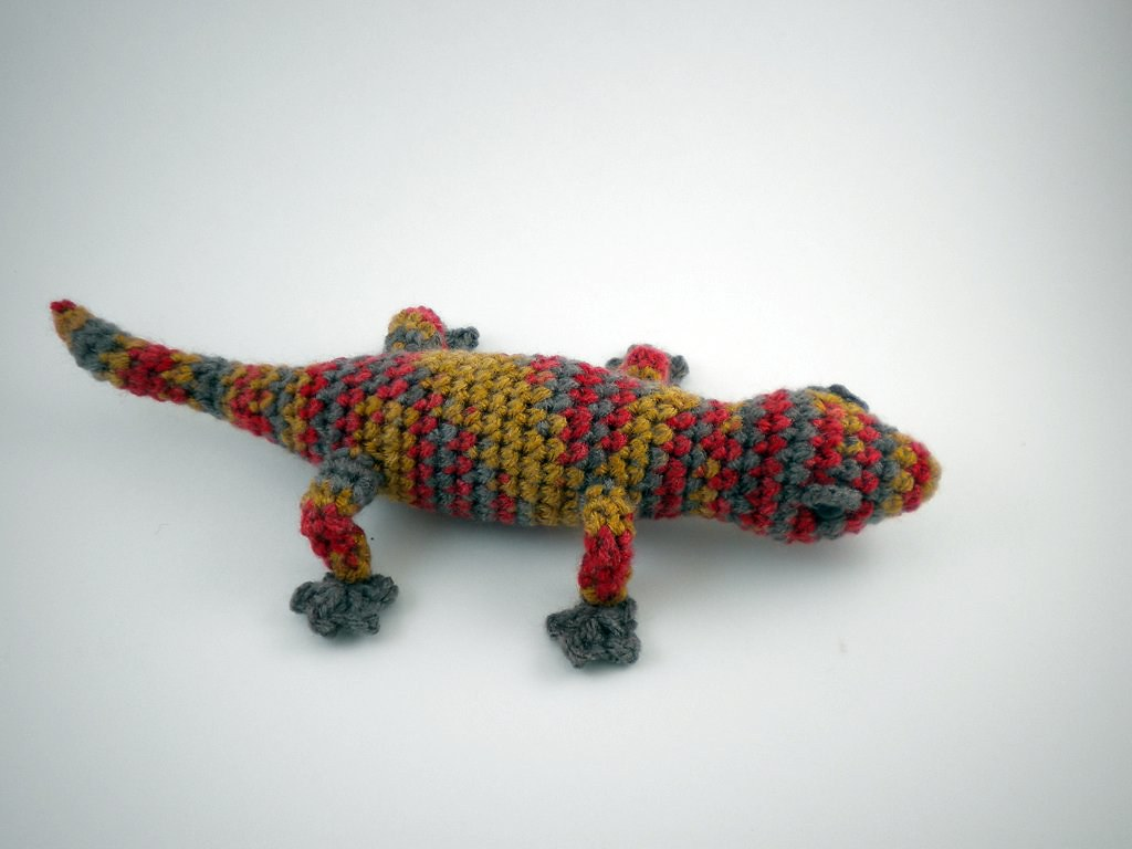 Amigurumi Gecko Pattern : Amigurumi Gecko Pattern by June Gilbank. Crocheted by me ...
