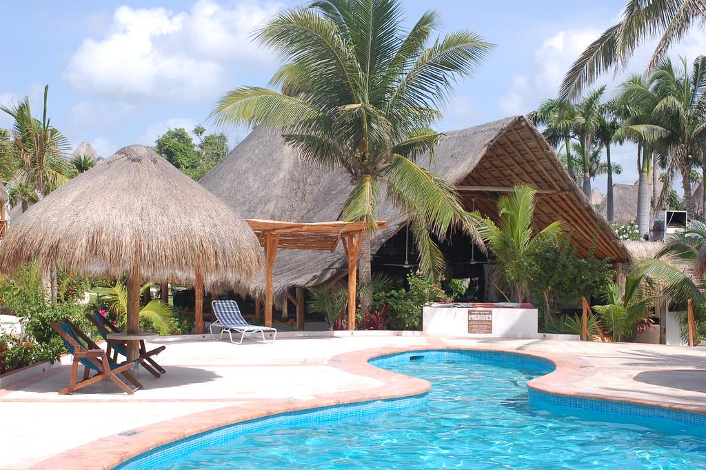 Hotel las palapas playa del carmen yucatan mexico flickr - Hotel las gaunas en logrono ...