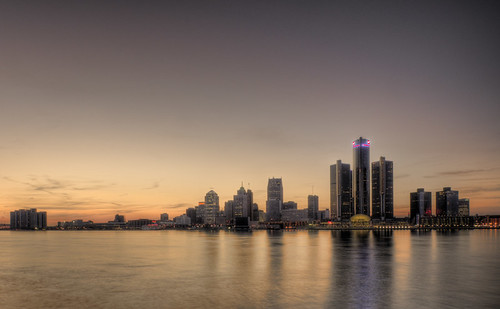 Detroit Skyline | by Nelson C.