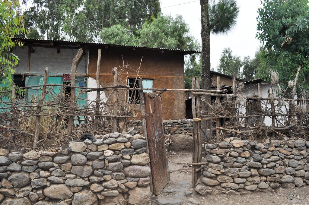 Falash Mura home in Gondar