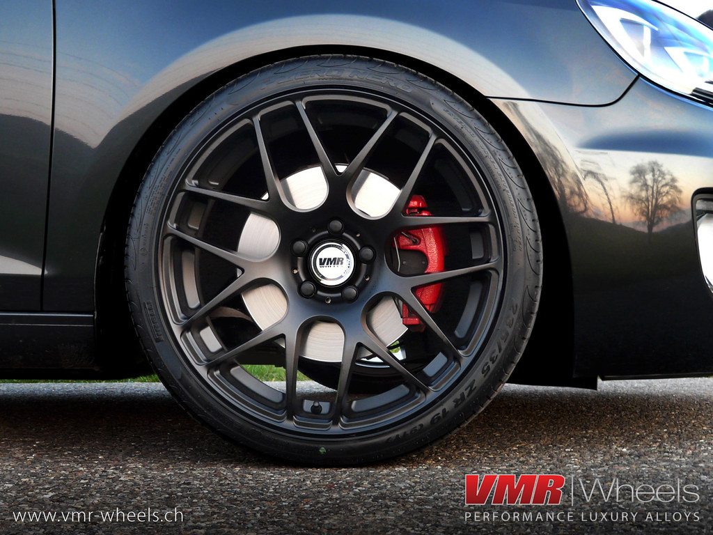 Vmr Wheels V710 Matte Black Volkswagen Golf Vi Gti Flickr