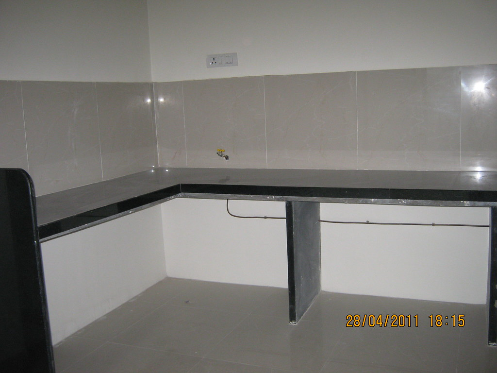 Kitchen With Black Granite Top