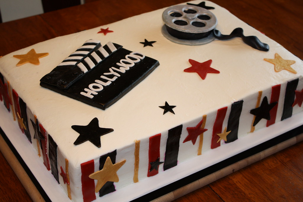 Cake Designs For Homecoming : Hollywood Prom Cake Hollywood themed cake for the high ...