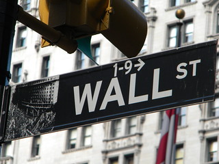 Wall Street Sign | by ToonariPost – A News Mash Up