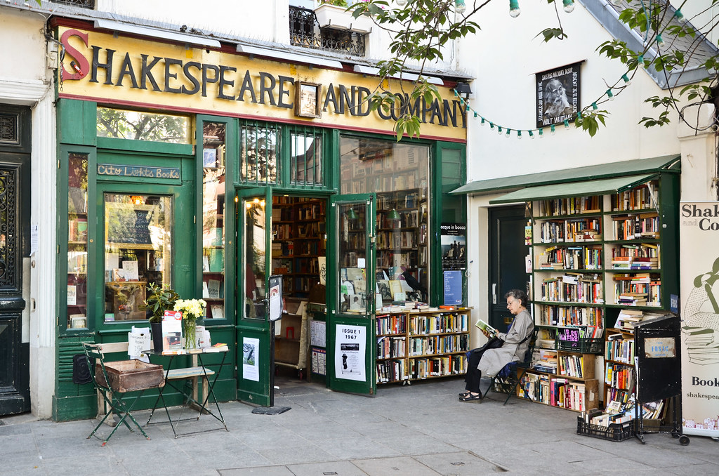 Image result for shakespeare and company tumblr