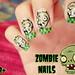 zombie nails ♥