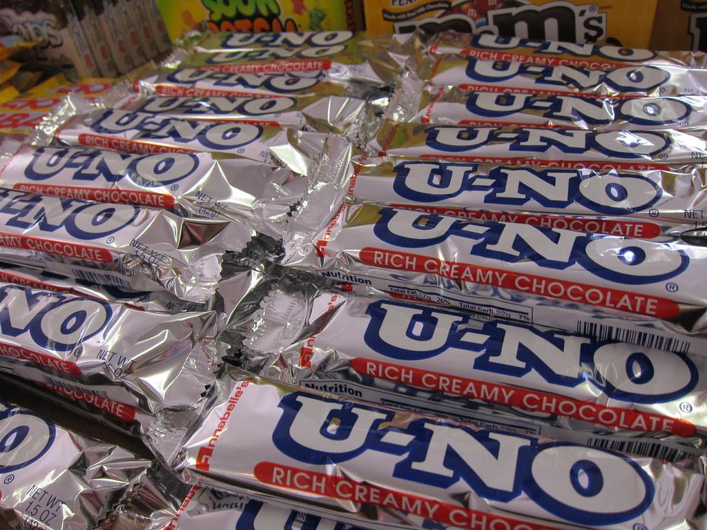 U No Candy Bar U-No Bar - Classic Can...