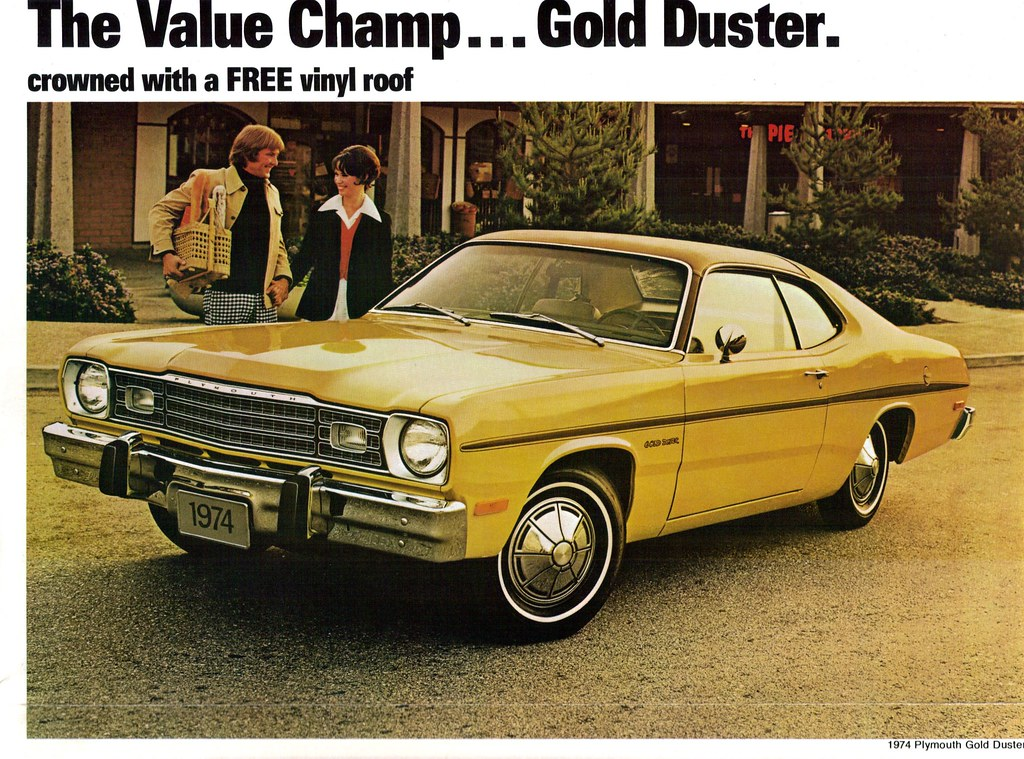 1974 Plymouth Gold Duster Coupe Coconv Flickr