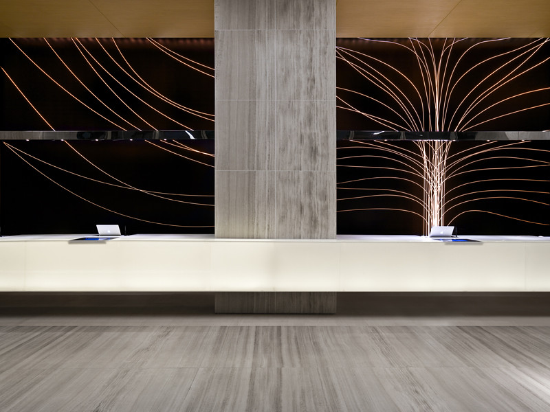 Lobby counter east swire hotels hong kong for Best hotel design 2016