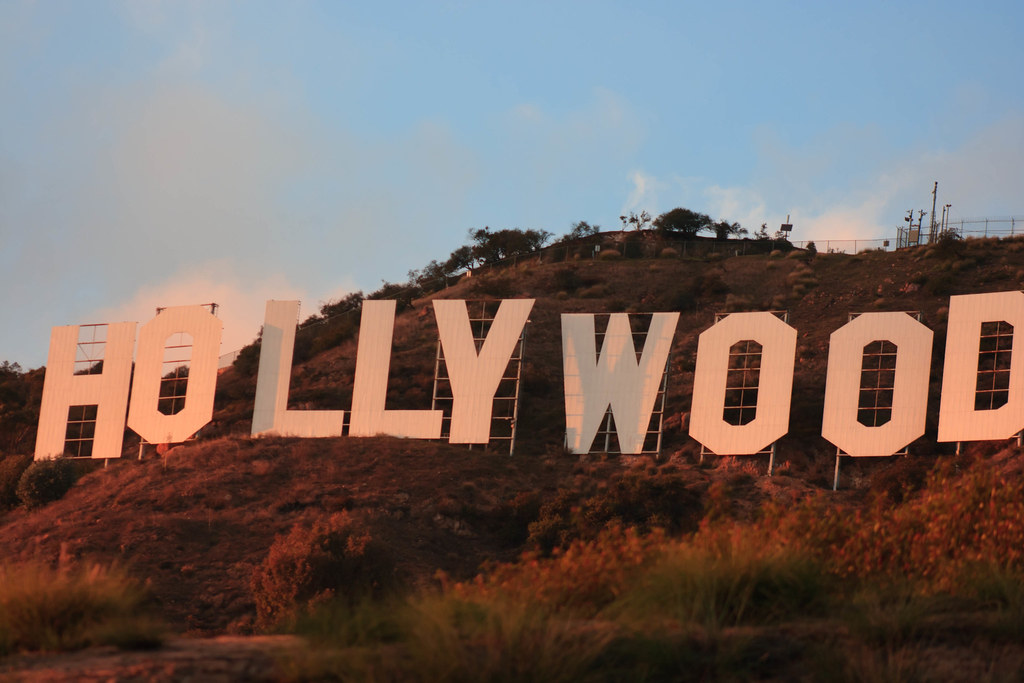 Hollywood sign sunset | classic | Jeremy Clark | Flickr  Hollywood sign ...