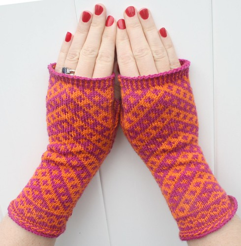 Vagabond Mitts | by choo choo knits