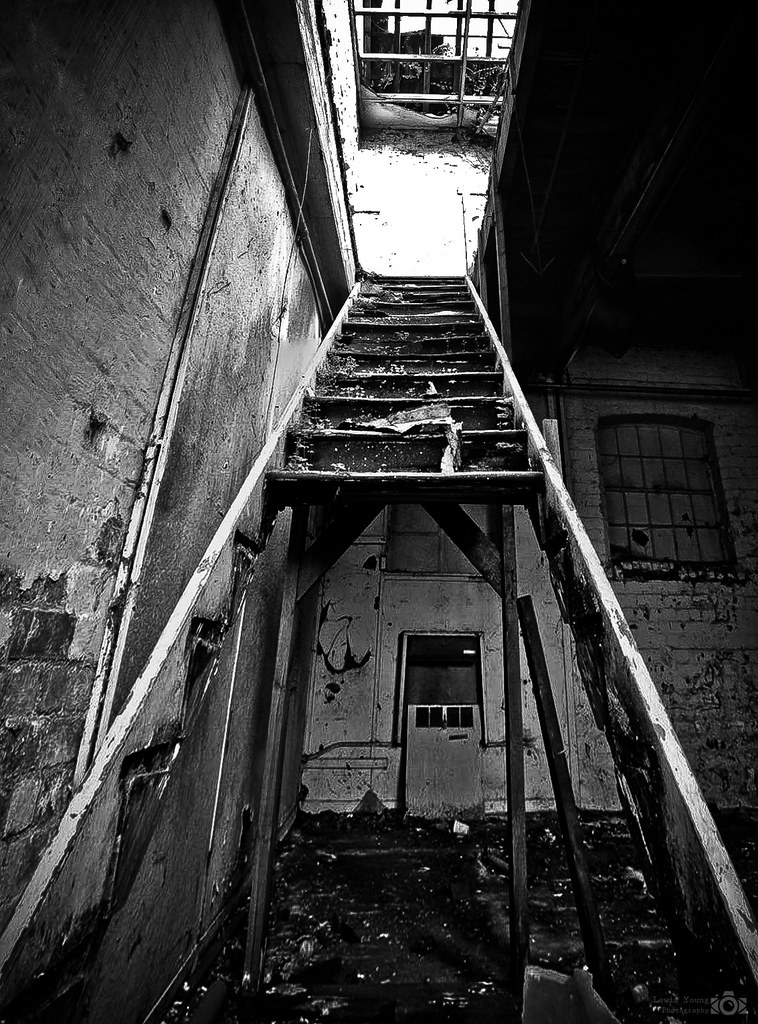 Broken Stairs | Lewis Young | Flickr