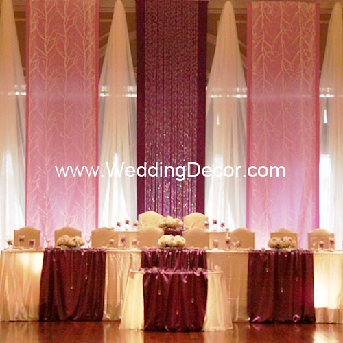 Wedding Backdrop Royal Purple Lavender Amp White A