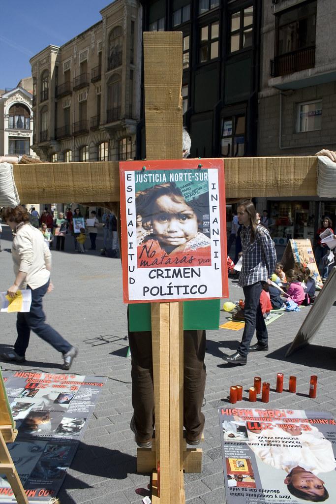 D a internacional contra la esclavitud infantil 19 vallado - Tapiceros valladolid ...