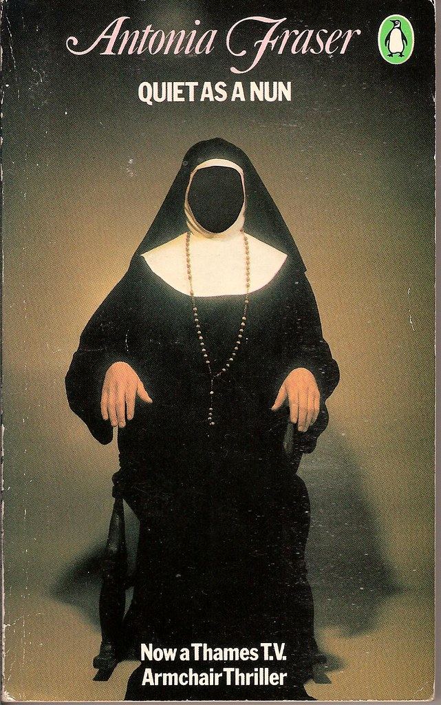 Quiet As A Nun Penguin Book Cover I Remember Seeing