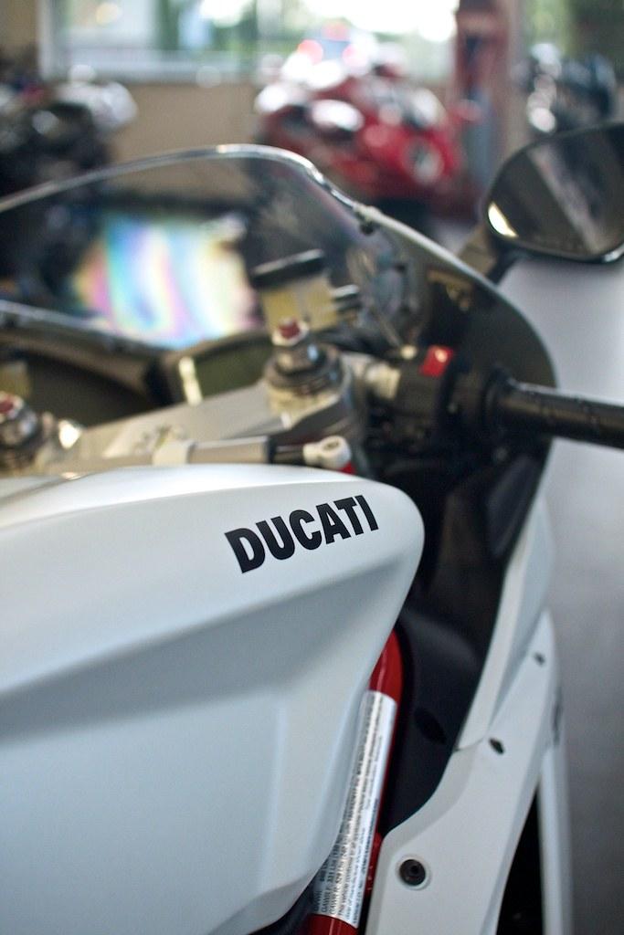 ducati 848 evo matte white at fast by ferracci in pa. Black Bedroom Furniture Sets. Home Design Ideas
