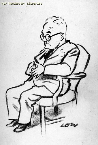 A. P. Wadsworth, formerly editor of the Manchester Guardian, 1956 | by archivesplus