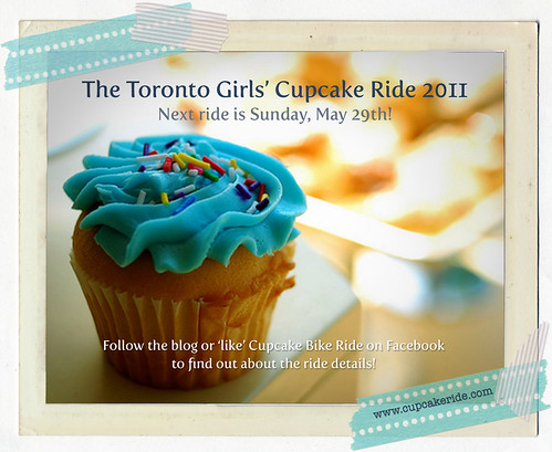 Toronto Girls' Cupcake Ride - May! | by happy d