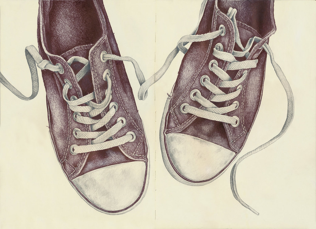 Drawing A Converse Shoe