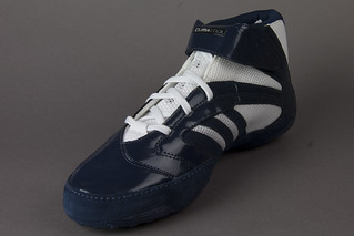adidas Vapor Speed III Navy White Wrestling Shoes View 12 | by wrestlinggear